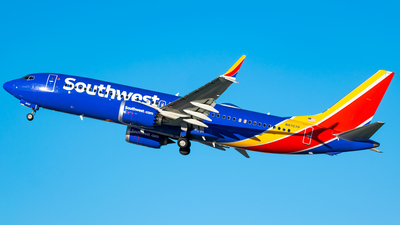 A picture of N8707P - Boeing 737 MAX 8 - Southwest Airlines - © Ricky Teteris