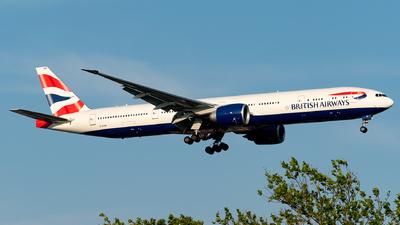 A picture of GSTBM - Boeing 777300(ER) - British Airways - © Luis Bastardo