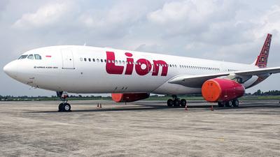 PK-LEL - Airbus A330-343 - Lion Air