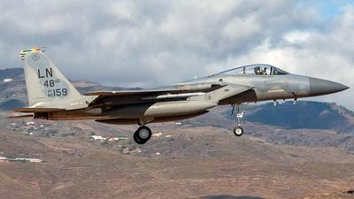86-0159 - McDonnell Douglas F-15C Eagle - United States - US Air Force (USAF)