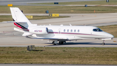N521QS - Cessna Citation Latitude - NetJets Aviation