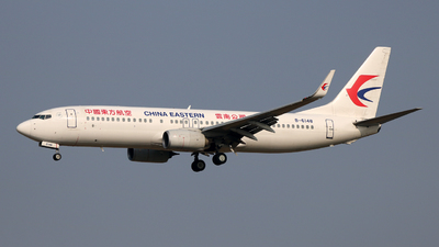 A picture of B6148 - Boeing 73789P - China Eastern Airlines - © laohan