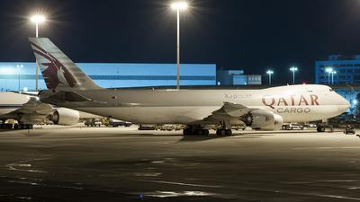 A7-BGA - Boeing 747-87UF - Qatar Airways Cargo