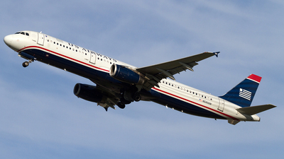N541UW - Airbus A321-231 - US Airways