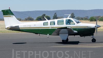 A picture of VHFIM - Beech A36 Bonanza - [E434] - © Jayden Laing