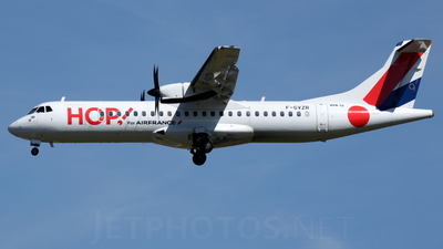 F-GVZR - ATR 72-212A(500) - HOP! for Air France