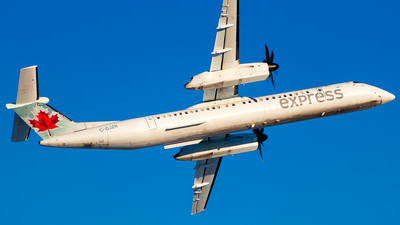 C-GJZR - Bombardier Dash 8-Q402 - Air Canada Express (Jazz Aviation)