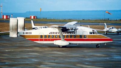 G-BEEO - Short 330-100 - Jersey European Airways