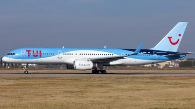 A picture of GOOBP - Boeing 7572G5 - TUI fly - © De Guidi Oscar