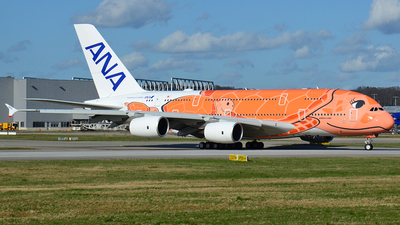 F-WWAL - Airbus A380-841 - All Nippon Airways (ANA)