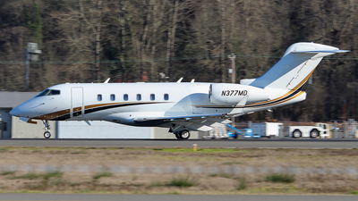 N377MD - Bombardier BD-100-1A10 Challenger 300 - Private