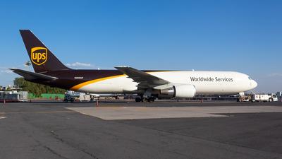 A picture of N369UP - Boeing 767300F(ER) - UPS - © Antonio Velasco (MAS Aviation Press)
