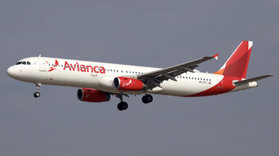 N570TA - Airbus A321-231 - Avianca Central America