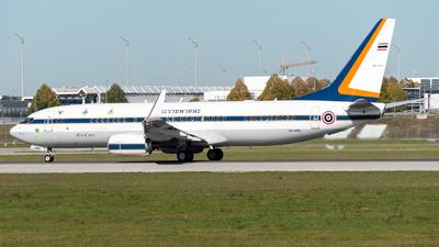 HS-HMK - Boeing 737-8Z6(BBJ2) - Thailand - Royal Thai Air Force