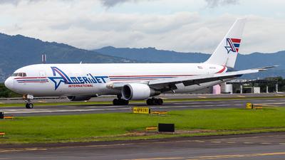 A picture of N373CM - Boeing 767338(ER)(BDSF) - Amerijet International - © Alonso Cisneros