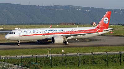 B-30AC - Airbus A321-271N - Sichuan Airlines