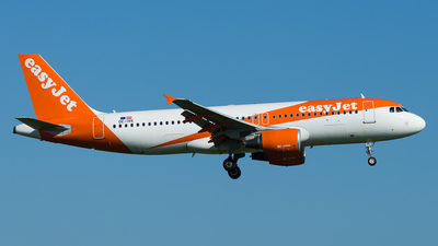 OE-IVK - Airbus A320-214 - easyJet Europe