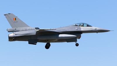 FA-97 - General Dynamics F-16AM Fighting Falcon - Belgium - Air Force
