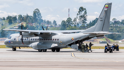 FAC1285 - CASA C-295M - Colombia - Air Force