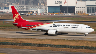 A picture of B5105 - Boeing 73797L - Shenzhen Airlines - © TommyNG