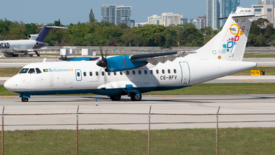 A picture of C6BFV - ATR 42600 - Bahamasair - © Mark Lawrence