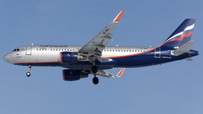 A picture of VPBNL - Airbus A320214 - Aeroflot - © SN7756