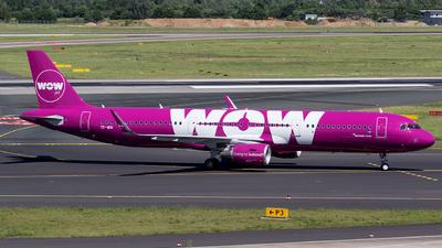 TF-WIN - Airbus A321-211 - WOW Air