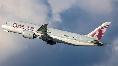 A picture of A7BDA - Boeing 7878 Dreamliner - Qatar Airways - © Anna Grochal