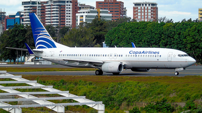 A picture of HP1827CMP - Boeing 7378V3 - Copa Airlines - © David Mendoza