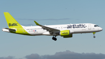 YL-CSF - Bombardier CSeries CS300 - Air Baltic