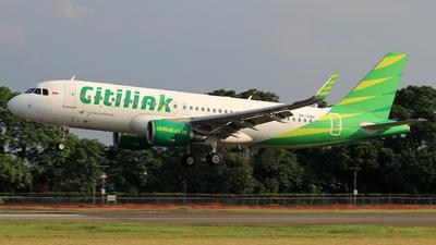 PK-GQH - Airbus A320-214 - Citilink