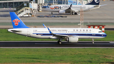 A picture of B301G - Airbus A320251N - China Southern Airlines - © Egg_Shadowsine Aviation