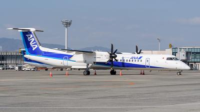 A picture of JA846A - De Havilland Canada Dash 8400 - All Nippon Airways - © Tsumugu Ono