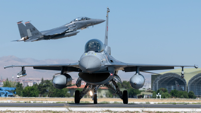 89-0045 - General Dynamics F-16D Fighting Falcon - Turkey - Air Force