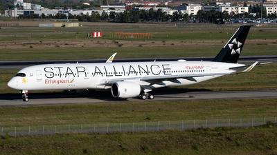 F-WZHD - Airbus A350-941 - Ethiopian Airlines