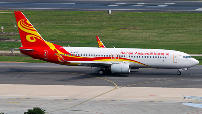 B-1495 - Boeing 737-84P - Hainan Airlines