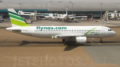 VP-CXM - Airbus A320-214 - Nas Air
