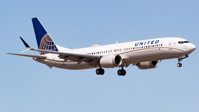 N37513 - Boeing 737-9 MAX - United Airlines