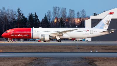A picture of LNLNN - Boeing 7879 Dreamliner - Norwegian - © Łukasz Stawiarz