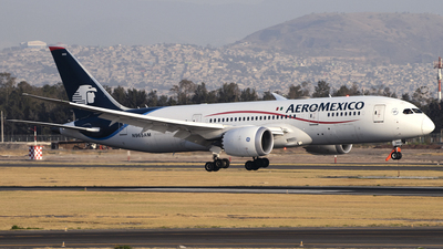 A picture of N965AM - Boeing 7878 Dreamliner - Aeromexico - © Caballero Aguila