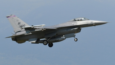 89-2030 - General Dynamics F-16C Fighting Falcon - United States - US Air Force (USAF)