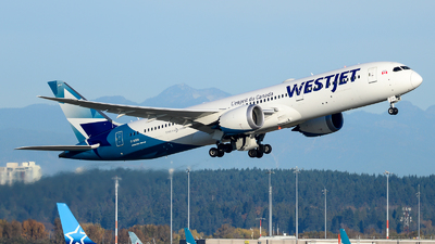 A picture of CGUDO - Boeing 7879 Dreamliner - WestJet - © Chung Kwok