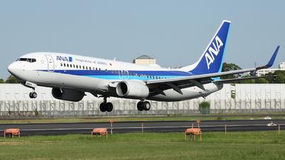 JA68AN - Boeing 737-881 - All Nippon Airways (ANA)