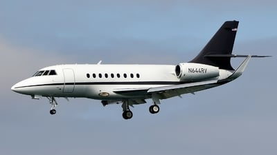 N644RV - Dassault Falcon 2000 - Private