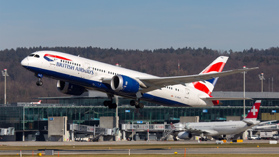 G-ZBJK - Boeing 787-8 Dreamliner - British Airways