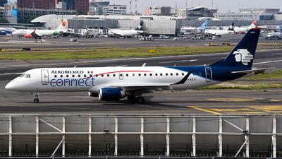 XA-AEO - Embraer 190-100LR - Aeroméxico Connect