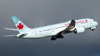 A picture of CGHQY - Boeing 7878 Dreamliner - Air Canada - © Derek MacPherson