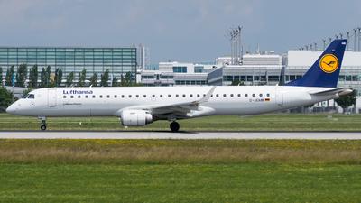 D-AEMB - Embraer 190-200LR - Lufthansa CityLine