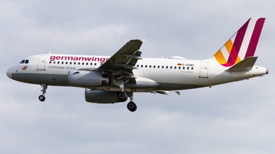 D-AGWD - Airbus A319-132 - Germanwings