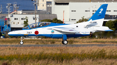 06-5787 - Kawasaki T-4 - Japan - Air Self Defence Force (JASDF)